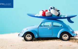 consejos para quitar arena de playa del coche