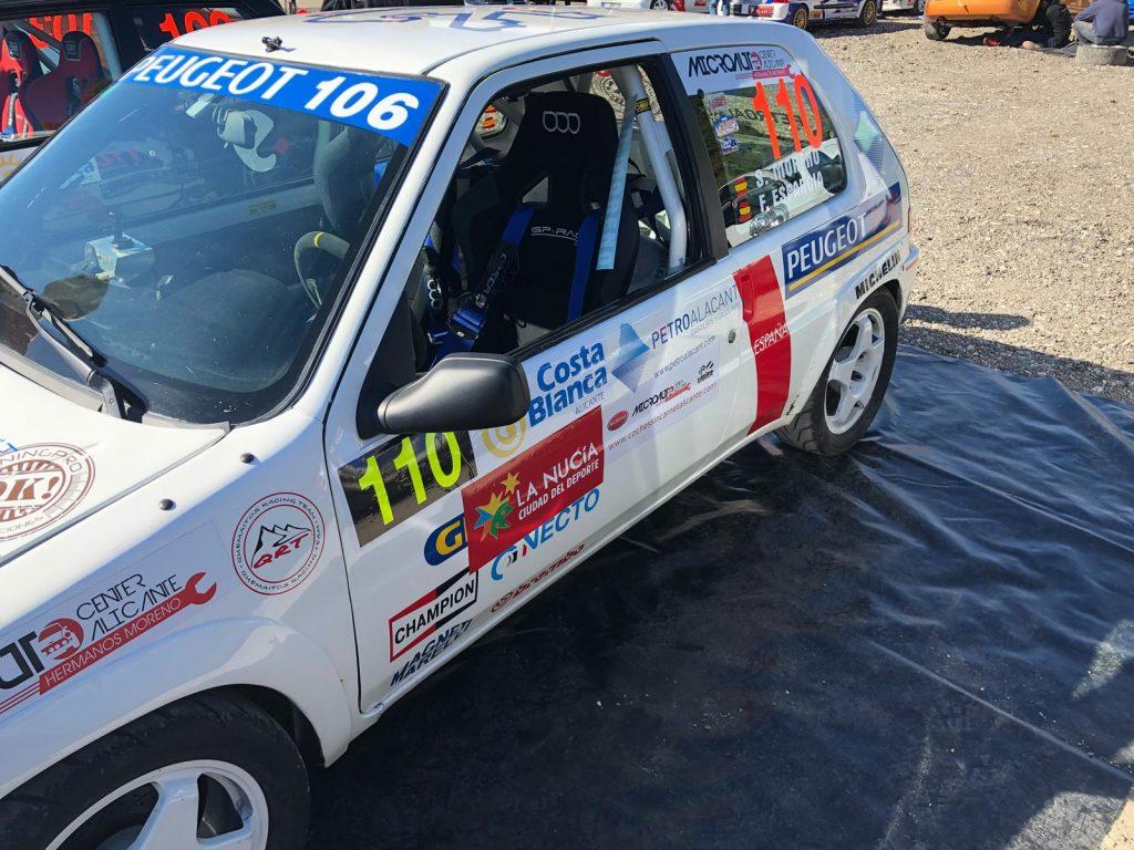 Patrocinio del Rally de La Nucía