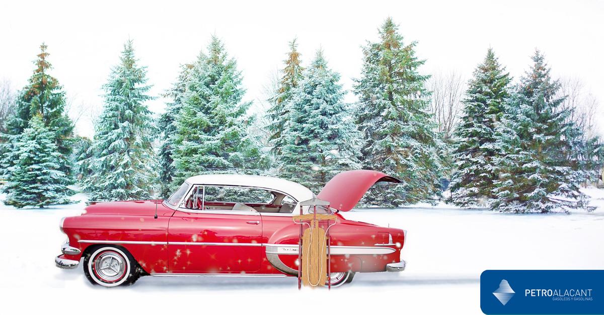 Consejos para planificar un viaje en coche en navidad