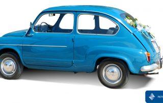 Seat 600 azul