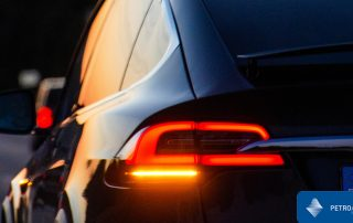 Luces intermitentes del coche