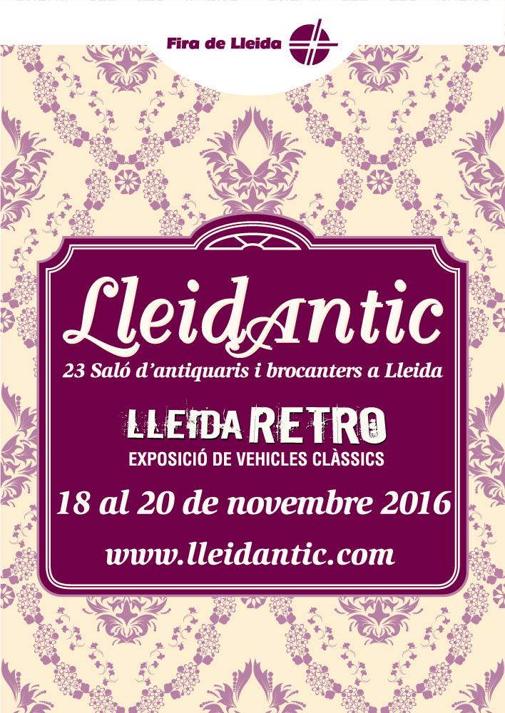 Cartel de Lleida Retro 2017